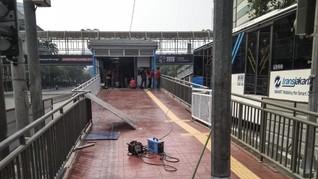 JPO Bank Indonesia Dibongkar, Dampak Proyek MRT