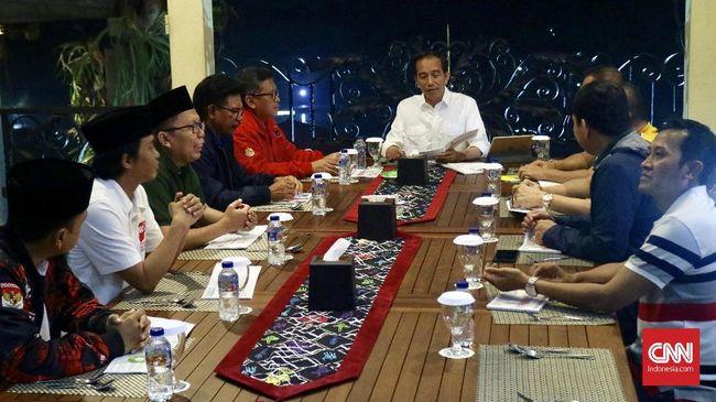 Sembilan Sekjen Parpol koalisi pendukung Joko Widodo akan mengirim masing-masing tiga orang perwakilan untuk membentuk Tim 27 membahas pemenangan Pilpres 2019.