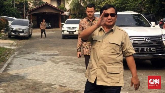 Prabowo, Jenderal Baret Merah yang Tak Kenal Menyerah