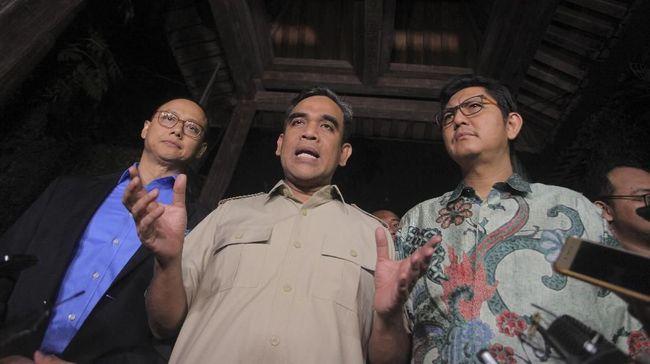 Untuk pertama kalinya tiga sekjen partai koalisi pendukung Prabowo Subianto menggelar pertemuan dengan Sekjen Demokrat terkait Pilpres 2019.