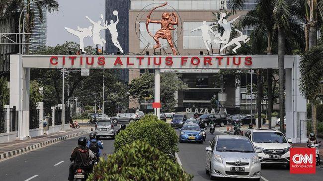 Semua uang pembangunan arena pertandingan selama Asian Games 2018 tersebut berasal dari pihak swasta yang dikelola Pemprov DKI.