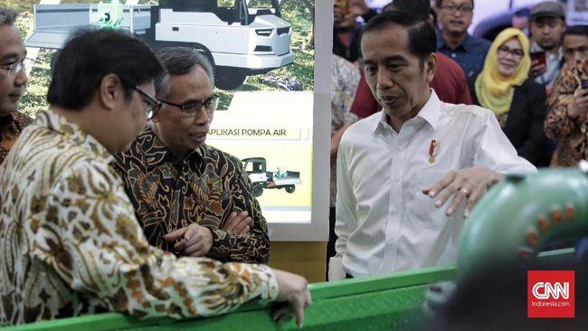 Presiden Jokowi kembali menyinggung nasib pabrik perakitan mobil Esemka di Boyolali, Jawa Tengah saat menghadiri GIIAS 2018.