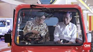 Buka GIIAS 2018, Airlangga Singgung Dukungan untuk Jokowi