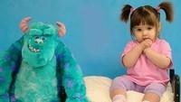 <p>Bayi ini mirip banget sama Boo di film 'Monster Inc' kan, Bun. (Foto: Instagram/modafashionluxo)</p>