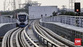 Uji Coba Usai, Waktu Tempuh LRT Palembang Dipangkas 20 Menit