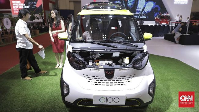 Saat ini disebut ada 300 produsen kendaraan listrik di China, sementara utilisasi produksinya cuma 53 persen.