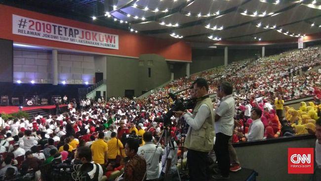 Para relawan-relawan Jokowi akan melantangkan ikrar kesetiaan mendukung Jokowi yang bertajuk Sapta Tekad Relawan Jokowi di pilpres 2019.