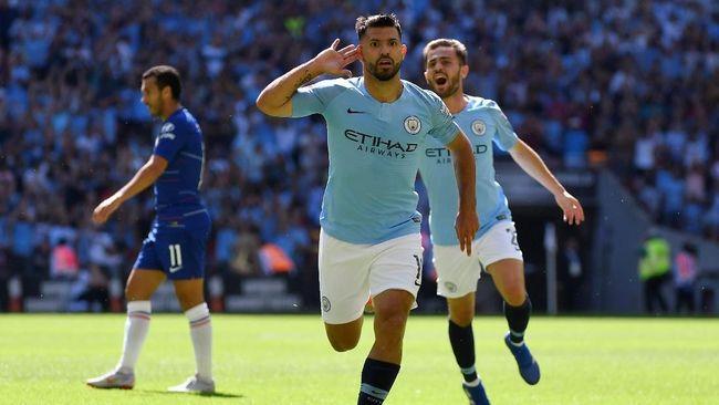 Penyerang internasional Argentina Sergio Aguero mengaku senang bisa memperpanjang kontrak bersama Manchester City hingga 2021.