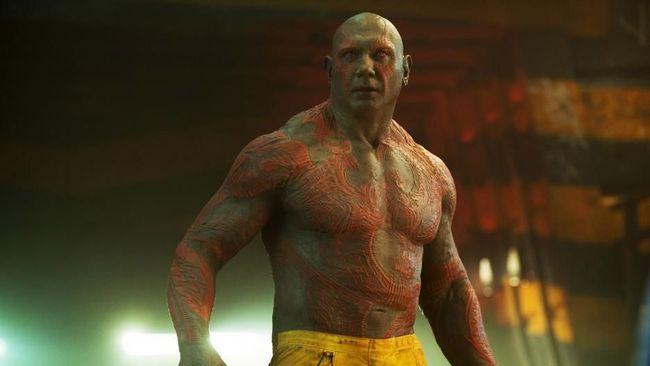 Dave Bautista, pemeran Drax dalam film Guardians of Galaxy menyebut The Galaxy Vol.3 atau Guardians 3 bisa jadi film MCU terakhir bagi dirinya.