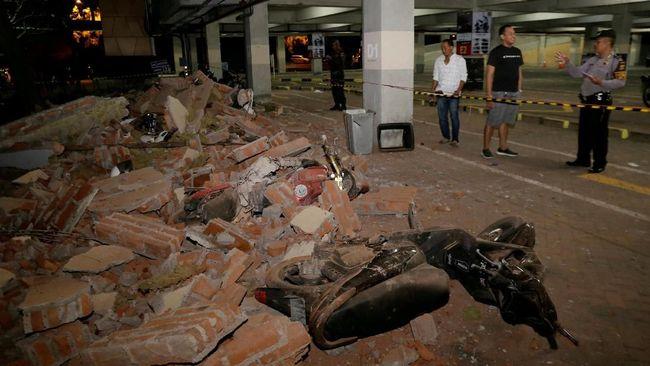 Gempa Susulan 5,4 SR di NTB, Guncangan Terasa Sampai Bali