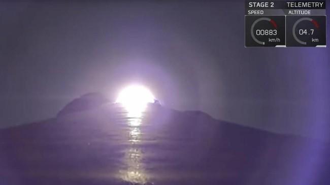 Satelit merah putih telah meluncur dari Cape Canaveral Air Force Station, Florida, Amerika Serikat pukul 12.18 WIB, Selasa (7/8) menggunakan roket milik SpaceX.