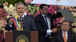 Presiden Kolombia Sebut Nicolas Maduro Penjahat Perang