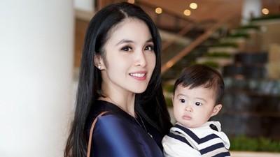 Tingkah Menggemaskan Putra Sandra Dewi Saat Syuting