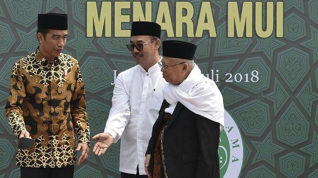 Staf Khusus Wapres Ma'ruf Amin, Lukmanul Hakim diketahui masih berstatus terlapor di kepolisian terkait dugaan pungli perpanjangan sertifikasi halal MUI.