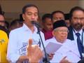 VIDEO: Pidato Jokowi di Gedung Joang soal Ma'aruf Amin