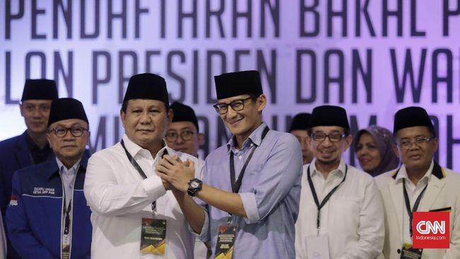 Bendahara Tim Prabowo Dana Kampanye Pilpres Belum Memuaskan