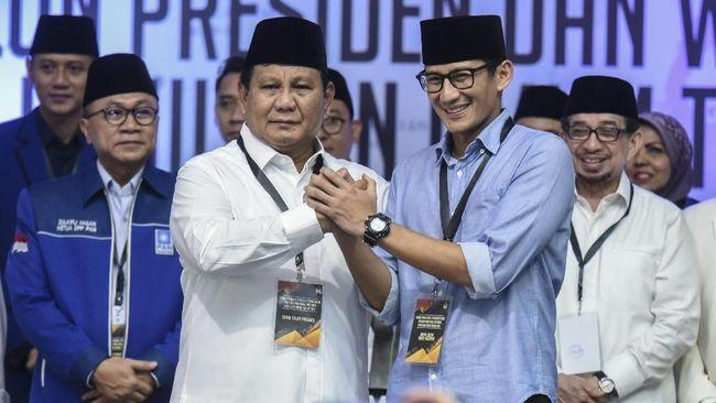 Sandiaga Uno mengatakan tim pemenangan Prabowo Subianto telah menyiapkan 12 orang untuk menjadi juru bicara.
