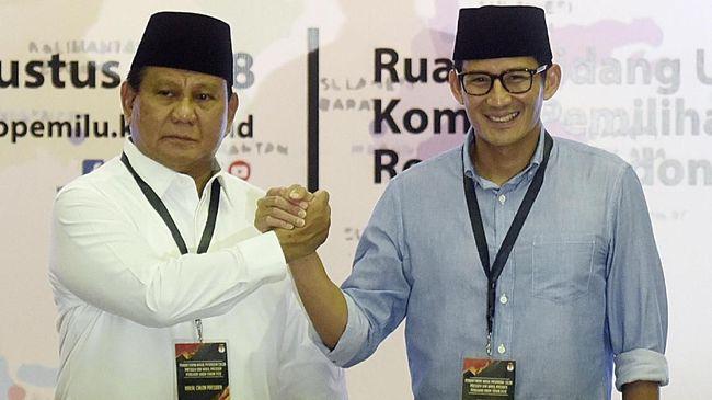 Gaya Jenderal Prabowo Dan Cara Sandi Merakyat Saat Ke Kpu