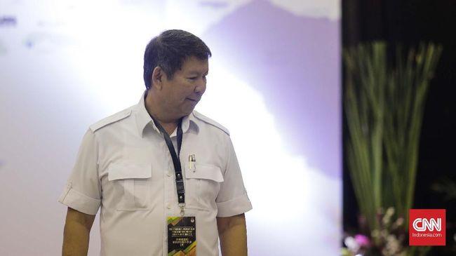 Hashim Djojohadikusumo memastikan mantan Panglima TNI Djoko Santoso akan menjabat Ketua Tim Pemenangan Prabowo Subianto-Sandiaga Uno.