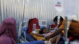Kerap Santap Nasi dan Mi, Anak Pengungsi Gempa Rentan Sakit