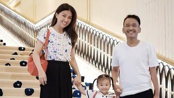 Sweet! Kesibukan Ruben Onsu dan Putrinya Jelang Berangkat Sekolah