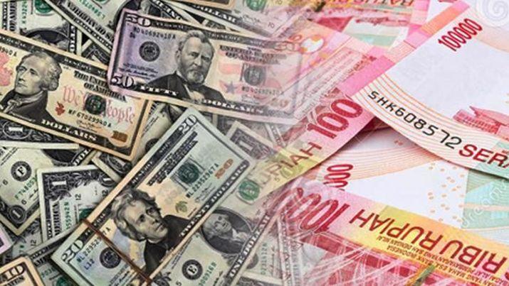 Pembukaan Pasar: Rupiah Melemah Tipis ke Rp 14.815/US$