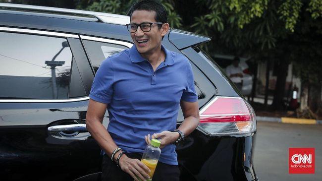 Menurut Sandi data emak-emak lebih konkrit dan terasa di lapangan ketimbang data statistik ekonomi yang sering dibanggakan pemerintah Jokowi.