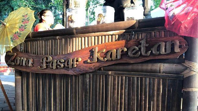 Destinasi Digital besutan GenPI Jawa Tengah, Pasar Karetan berhasil melakukan kerja sama dengan salah satu produk industri swasta.