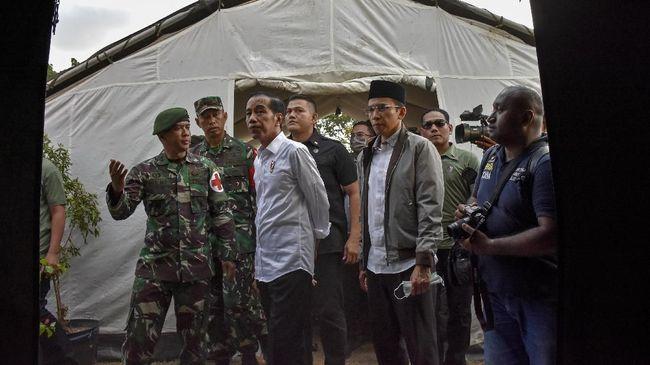 Jokowi menyampaikan sejumlah arahan agar penanganan pascagempa berjalan baik dan perekonomian Lombok segera pulih usai diguncang gempa 7 SR.