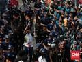 Dishub Tutup Jalan saat Kirab Obor Asian Games di Jakut