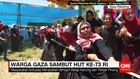 Warga Gaza Turut Sambut HUT RI