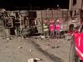 Kecelakaan Bus di New Mexico AS, Empat Tewas