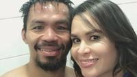 <p>Dukungan sang istri pun amat berharga buat seorang Manny Pacquiao dalam meniti karirinya. (Foto: Instagram/mannypacquiao)</p>