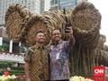 Instalasi Bambu Rp550 Juta Kebanggaan Anies Dibongkar