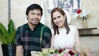 <p>Pacquiao juga termasuk sosok suami yang romantis lho. (Foto: Instagram/jinkeepacquiao) </p>