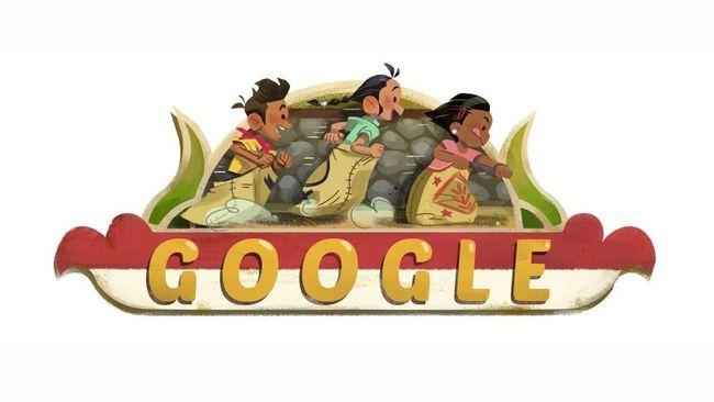 Google Ikut Rayakan Hut Ke 73 Kemerdekaan Ri