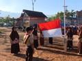 VIDEO: Upacara Bendera di Pengungsian Gempa Lombok