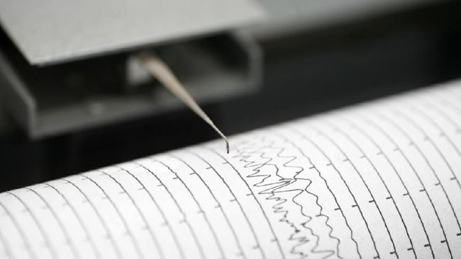 Plt Kasubid Pengumpulan dan Penyebaran Data BBMKG mengatakan getaran gempa magnitudo 5,9 di Majene (Sulbar) terasa pula hingga Makassar (Sulsel) Kamis siang.
