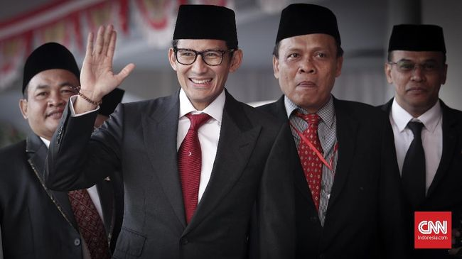 Pertemuan dengan Presiden Joko Widodo diajukan Sandiaga Uno dalam rangka silaturahmi sebelum bertanding pada pemilihan presiden (pilpres) 2019.