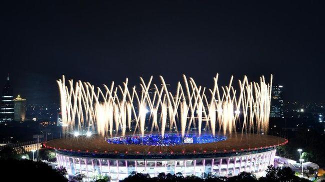 Ketua NOC Indonesia Raja Sapta Oktohari dan Menpora Zainudin Amali memastikan Indonesia masih berpeluang menjadi tuan rumah Olimpiade 2032.