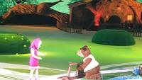 <p>Di pemancingan, Masha dan Bear bertemu Bear Girl. Namun bear mematahkan kursi Bear Girl. Sebagai permintaan maaf, Bear mengajak makan Bear Girl ke rumahnya.</p>