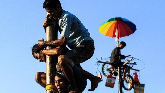 Pemkot Surabaya meminta warga tak menggelar perlombaan terkait peringatan 17 Agustus karena rentan penyebaran Covid-19.