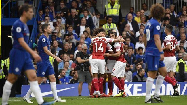 Berikut prediksi derby London antara Arsenal vs Chelsea yang dirangkum redaksi CNNIndonesia.com.