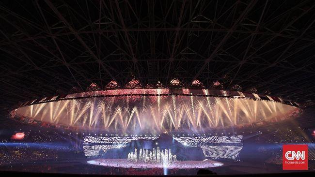 Berikut susunan acara upacara penutupan Asian Games 2018 akan dilangsungkan di Stadion Utama Gelora Bung Karno, Minggu (2/9) malam.