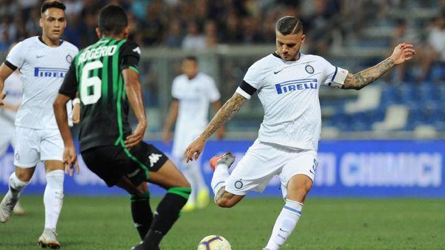 Inter Milan menang dramatis 1-0 atas Sampdoria di Stadion Luigi Ferraris dalam pertandingan pekan kelima kompetisi Serie A Liga Italia, Minggu (23/9) dini hari.