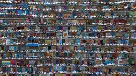 FOTO: Cara Umat Muslim Rayakan Iduladha di Seluruh Dunia