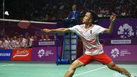 Undian Berat, Anthony Patok Semifinal Di Malaysia Masters