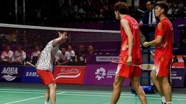 FOTO: Perjuangan Tim Putra Indonesia di Asian Games 2018