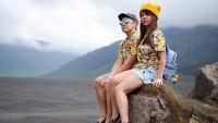 <p>Pasangan ini udah cocok jadi model majalah belum, Bun? (Foto: Instagram/ @marcusfernaldig) </p>