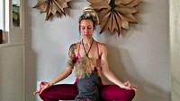 <p>Wah, jangan-jangan saat besar nanti Maramylee juga jadi yoga expert seperti Bunda Carlee nih, he-he-he. (Foto: Instagram/ @carleebyoga)</p>